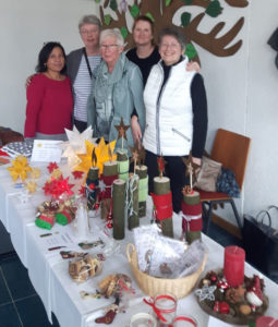 Auf dem Bild fehlen: Nicole Köhler, Sonja Kaun und Linda Hütt